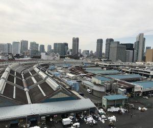 豊洲新市場・築地市場内視察